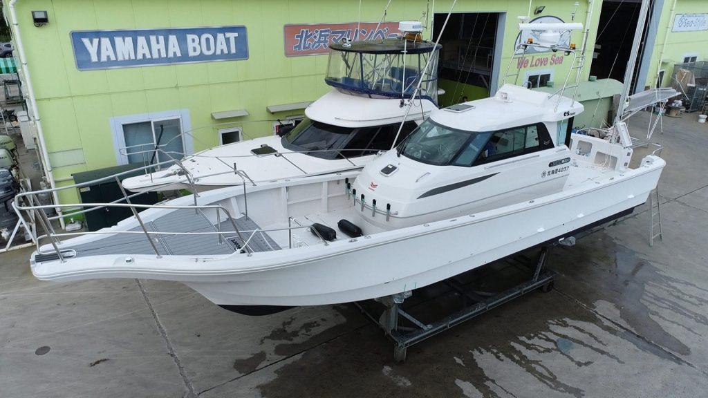 YanmarEX40 オリジナル艤装で進水納船